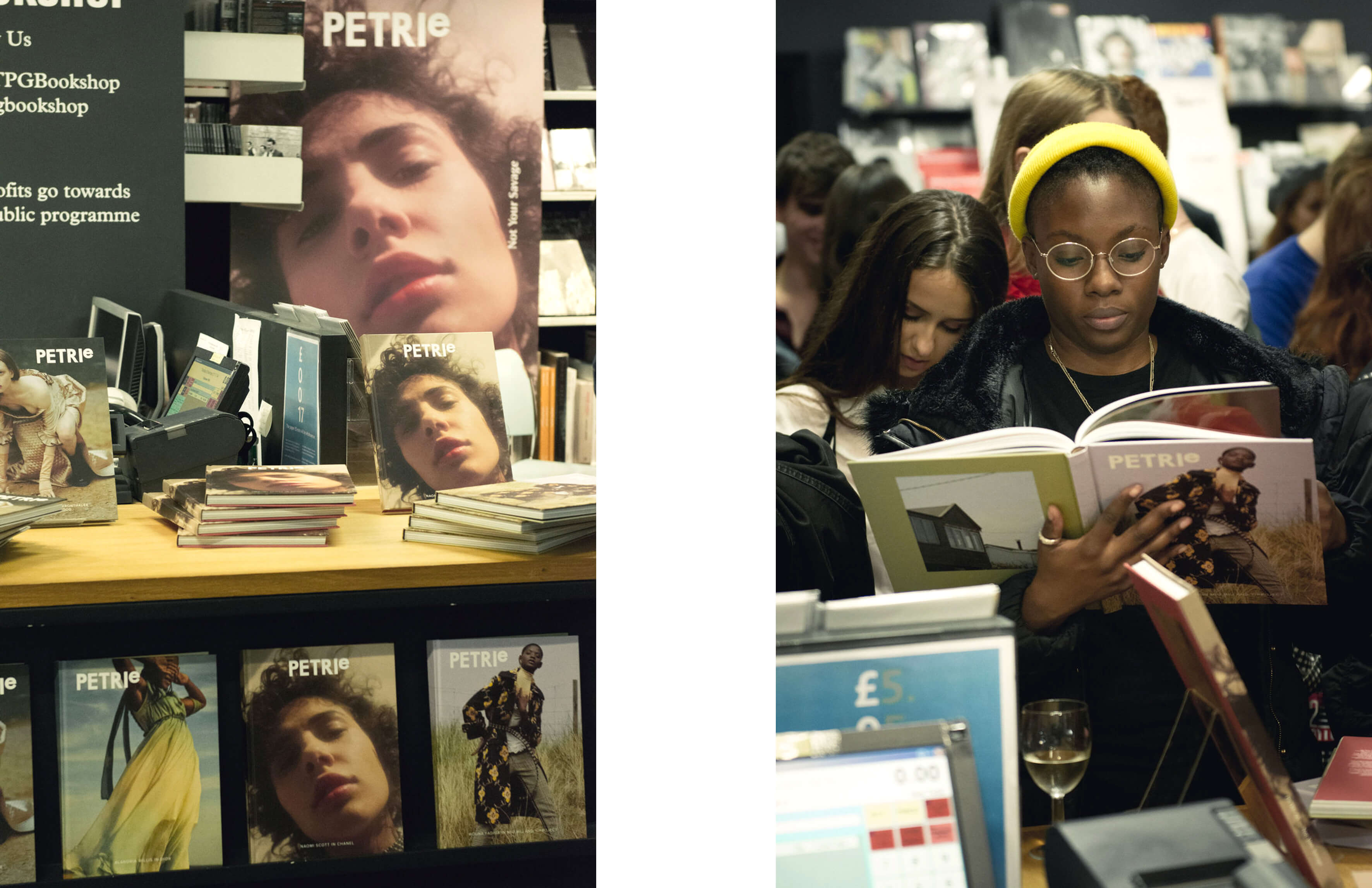 Petrie magazine launch event at Photographers' Gallery London
