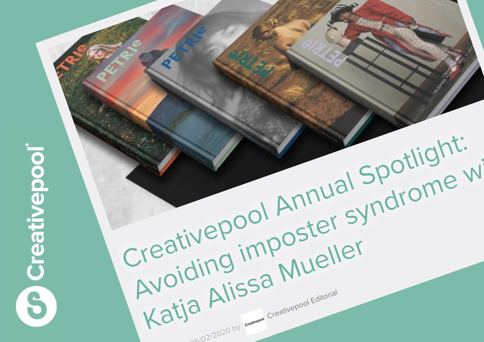 Creativepool annual spotlight interview announcement